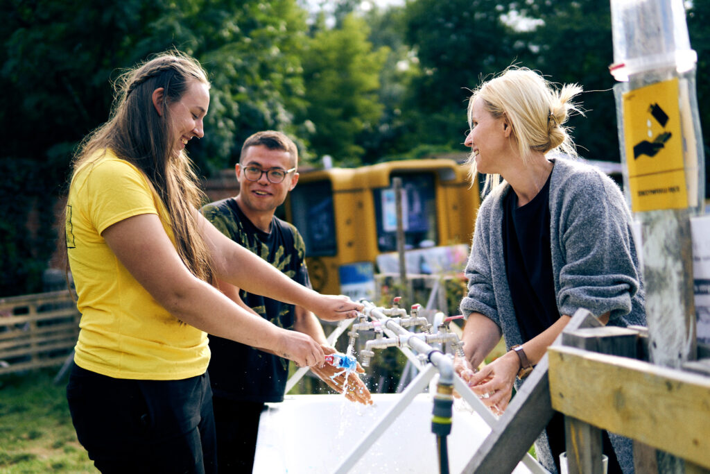 Ania, Stefan i Sylwia